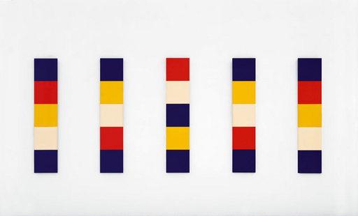 Red Yellow Blue White, 1952 - Ellsworth Kelly