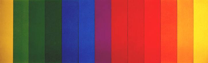 Spectrum III, 1967 - Ellsworth Kelly