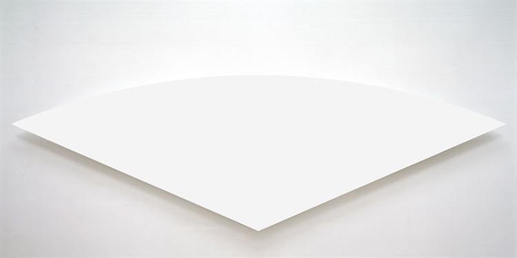 White Curve, 1974 - Ellsworth Kelly