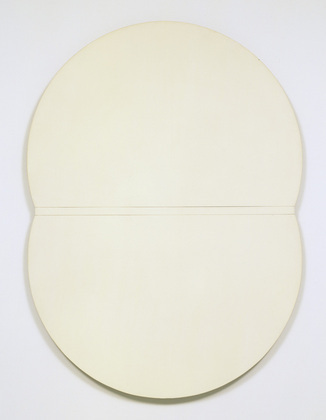 White Plaque. Bridge Arch and Reflection, 1955 - Ellsworth Kelly