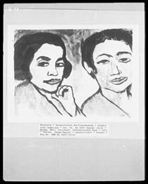 Indonesian couple - Emil Nolde
