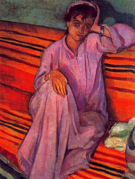 African Woman, 1895 - Emile Bernard