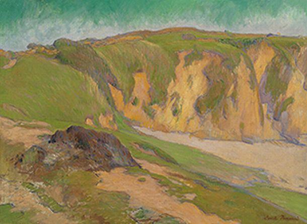 The Cliffs at Le Pouldu, 1887 - Émile Bernard