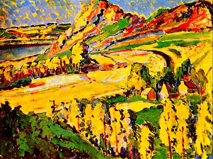 Autumn in France, 1911 - Emily Carr
