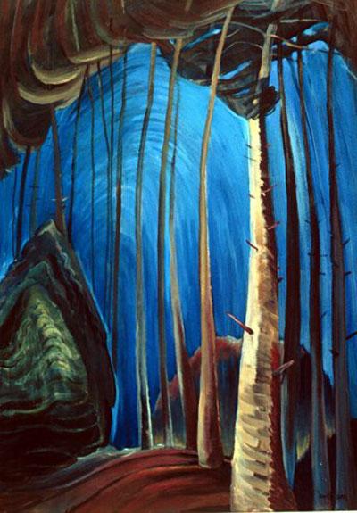 Blue Sky - Emily Carr