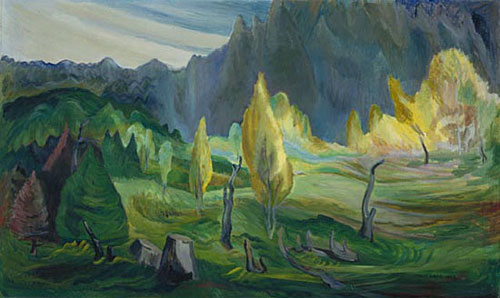 Clearing, 1942 - Emily Carr