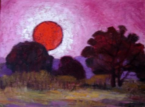 Sunset, 1981 - Endre Bartos