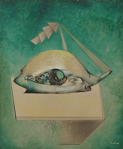 L'oeil de nuit - Enrico Donati