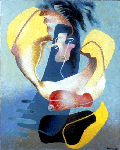 The Figure in Space, 1937 - Enrico Prampolini