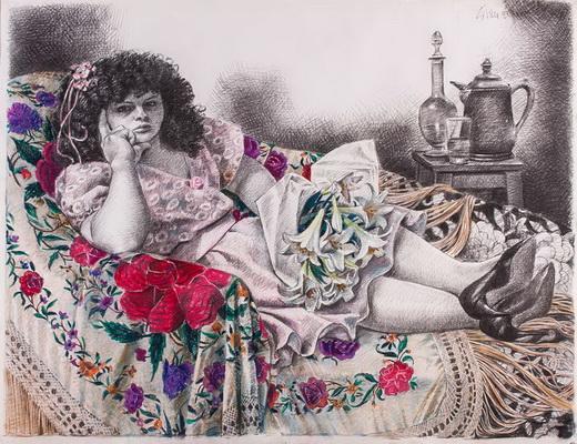 El sofá, 1987 - Enrique Grau