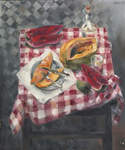 Mesa con Frutas, 1962 - Enrique Grau