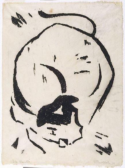 Bull, 1919 - Erich Buchholz