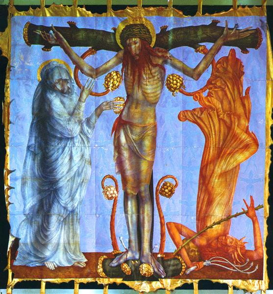 The Sorrowful Rosary - Ernst Fuchs