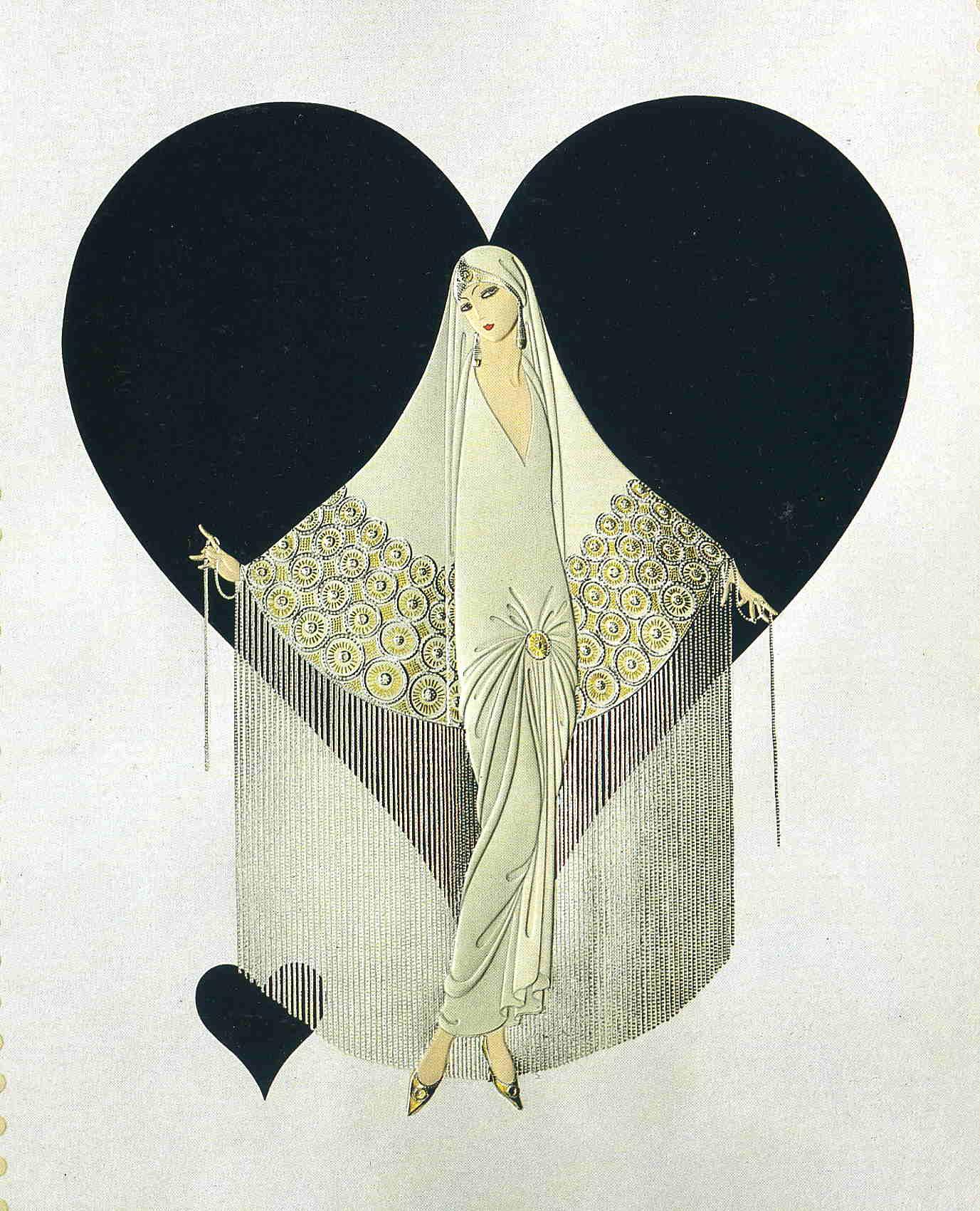 June bride erte for Art deco artists list