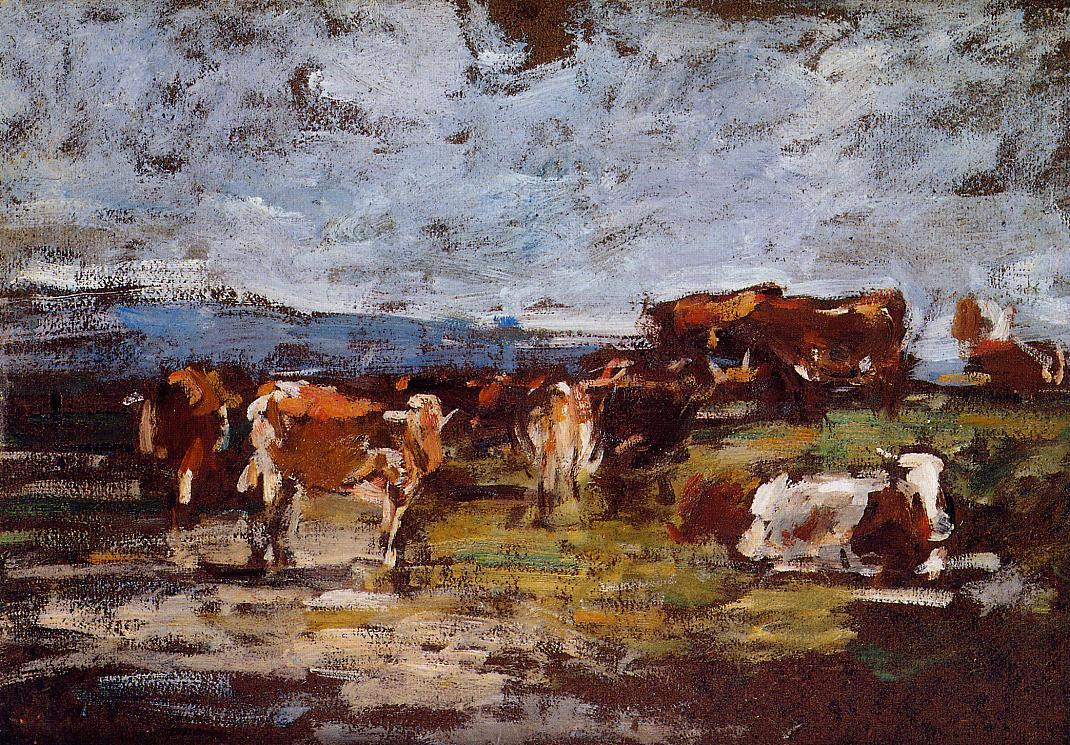 Cows in a Pasture, 1883