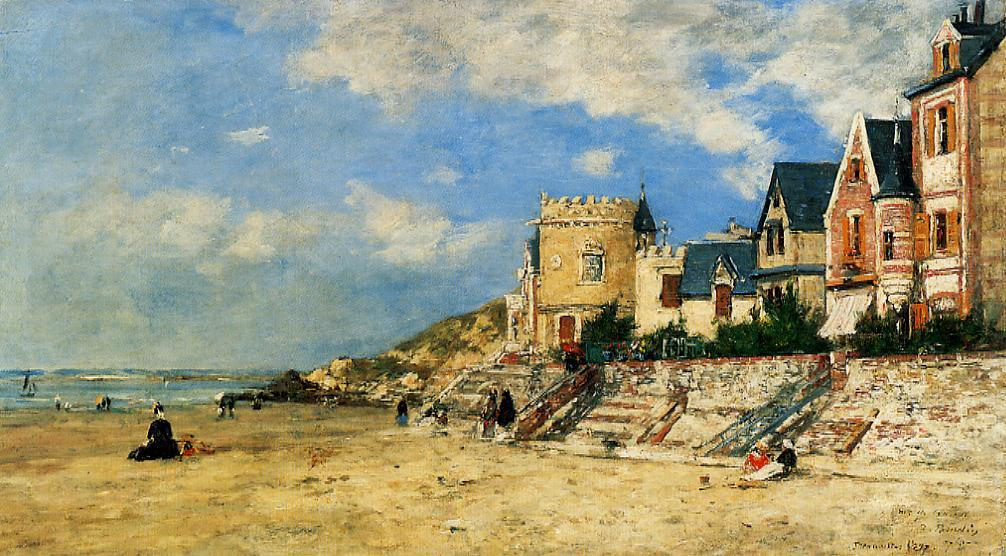 The Tower Malakoff and the Trouville Shore, 1877