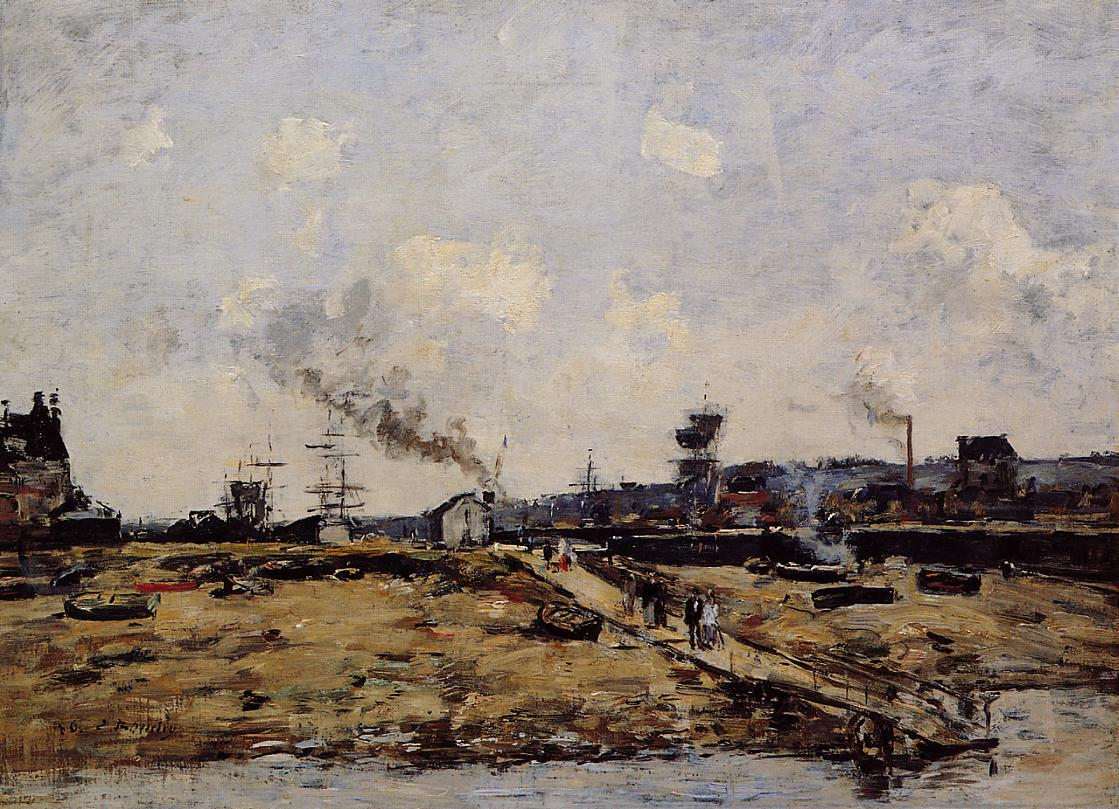 Trouville, the Ferry to Deauville, 1880