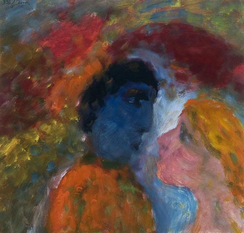 De dichter en zijn muze, 1956
