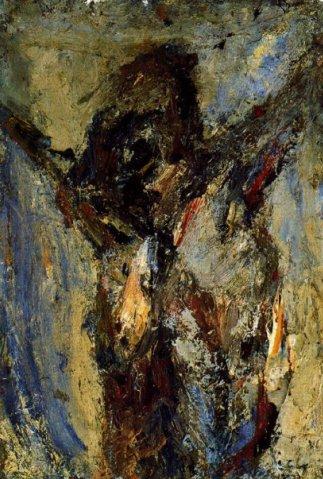 Christ, 1960 - Eugène Leroy