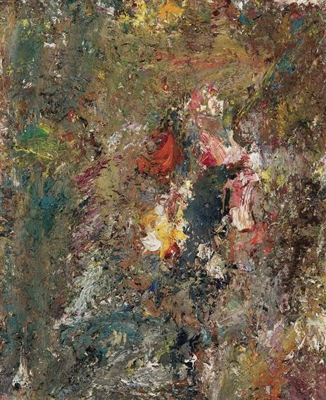 Fleurs - Eugene Leroy