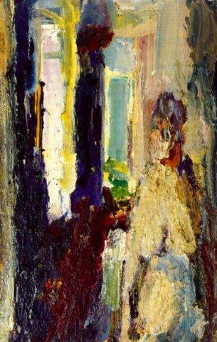 Valentine á croix, 1954 - Eugene Leroy