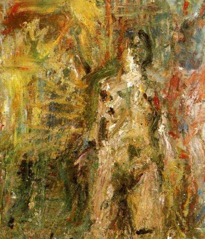 Woman (grey nude), 1978 - Eugène Leroy