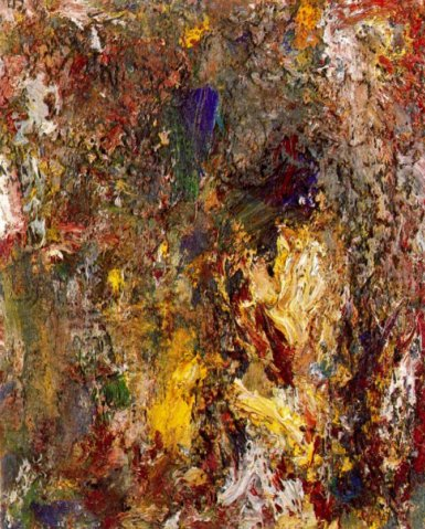Yellow portrait, 1990 - Eugene Leroy