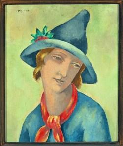 Head of a woman, 1925 - Eugeniusz Zak