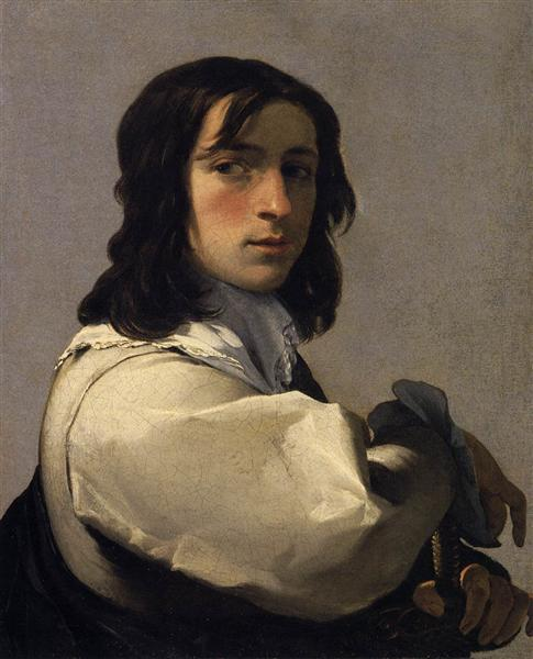 Portrait of a Young Man, 1640 - Eustache Le Sueur