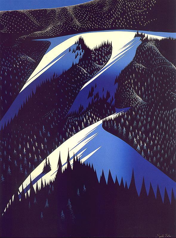 http://uploads3.wikipaintings.org/images/eyvind-earle/black-evergreen-forest-1981.jpg!HalfHD.jpg