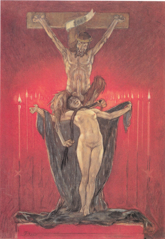 The Satanic. Calvary, 1882