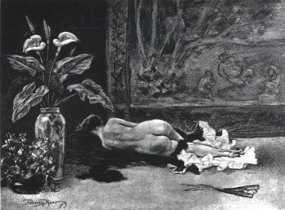 The Siesta, 1879