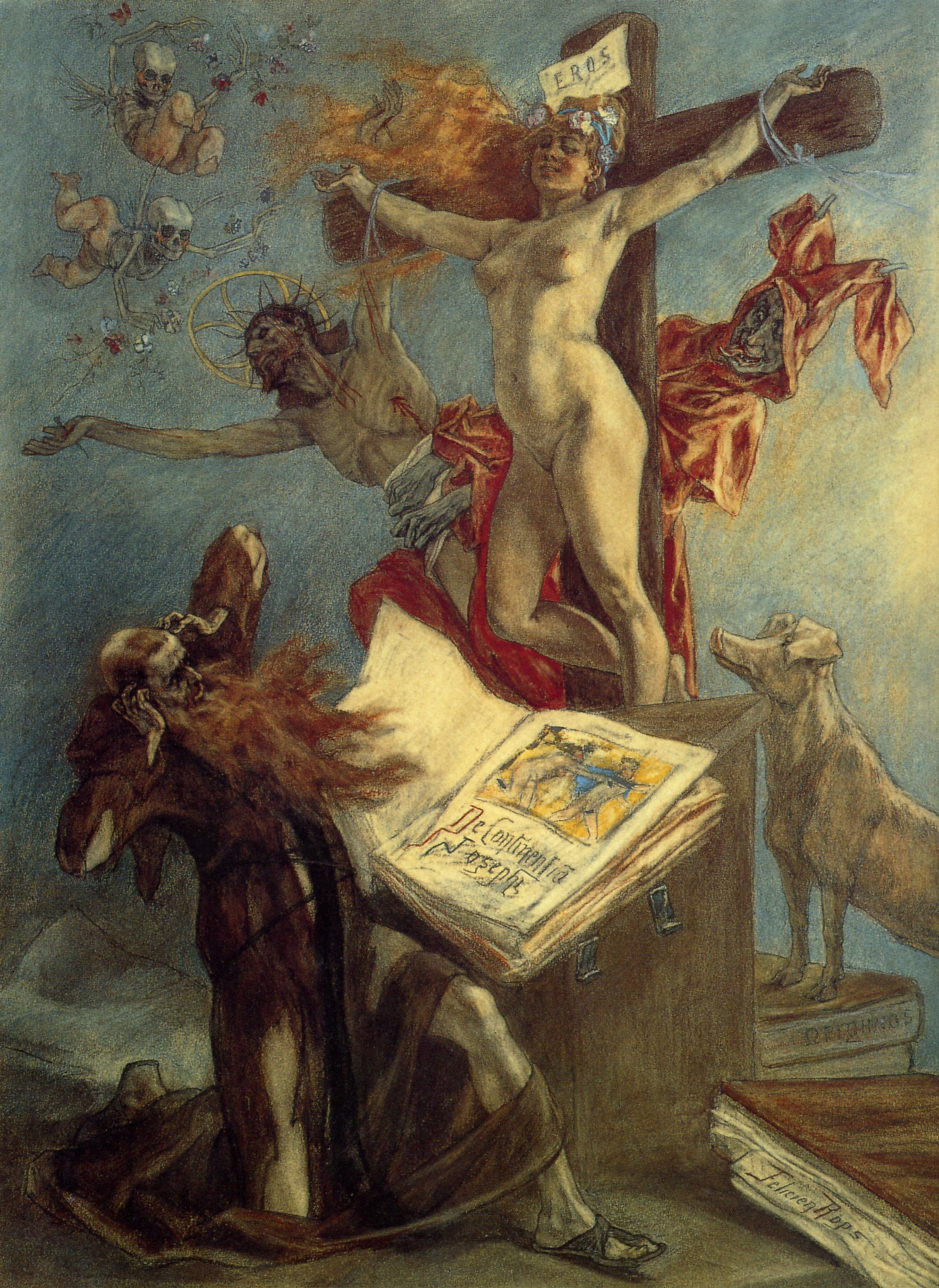 The Temptation of St. Anthony, 1878