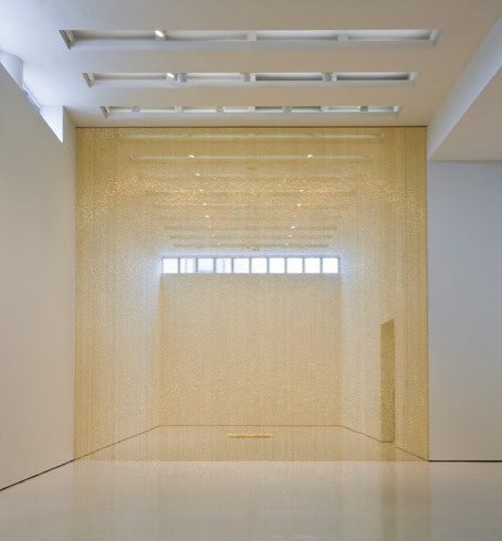 """Untitled"" (Golden), 1995 - Felix Gonzalez-Torres"