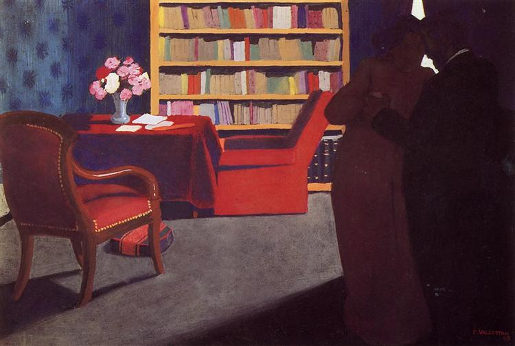 Private Conversation, 1898 - Felix Vallotton