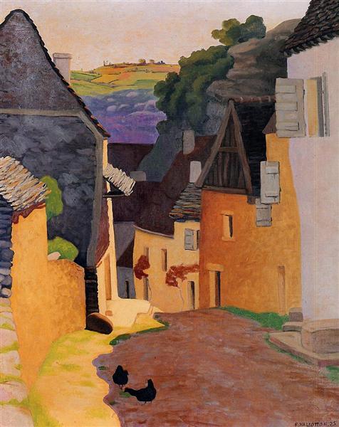 Rocamadour Landscape, 1925 - Félix Vallotton