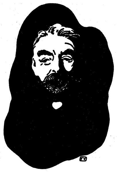 Stéphane Mallarmé, c.1925 - Felix Vallotton