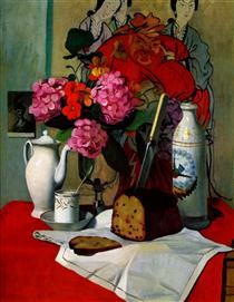 Still life in Chinese painting - Felix Vallotton