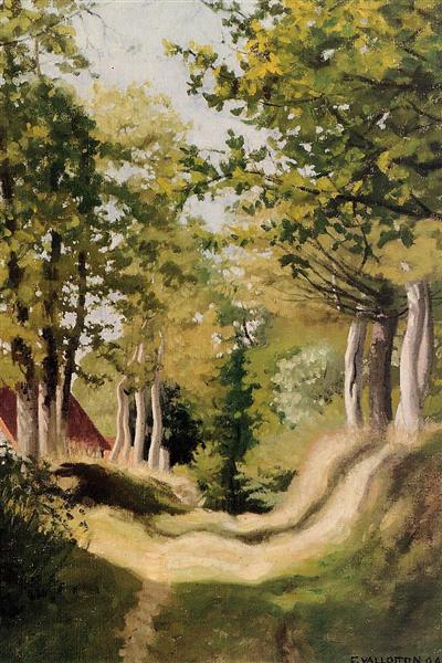 Undergrowth, 1904 - Felix Vallotton