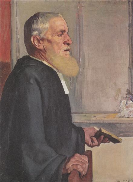 The pastor, 1879 - Ferdinand Hodler