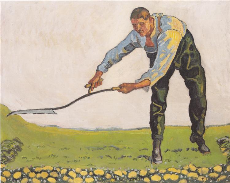 The Reaper, 1910 - Ferdinand Hodler