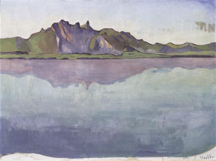 Thun, Stockhornkette, 1910 - Ferdinand Hodler