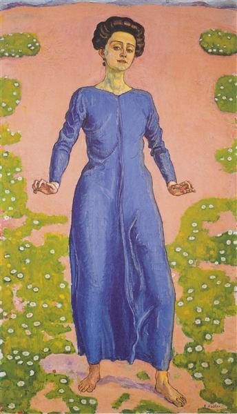 Transfiguration, c.1906 - Ferdinand Hodler