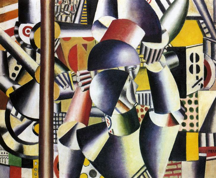 Acrobats in the circus, 1918 - Fernand Léger