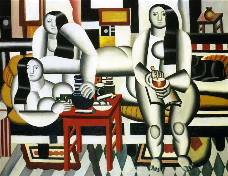 The Breakfast, 1921 - Fernand Leger