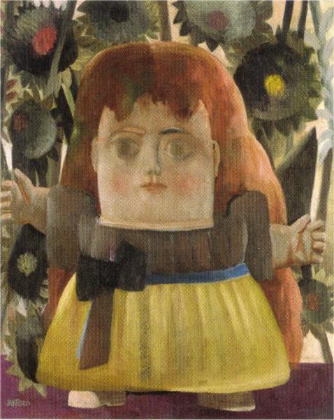 little girl in the garden - The Girls In The Garden