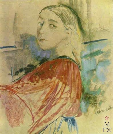 Peasant girl, 1910 - Filipp Malyavin