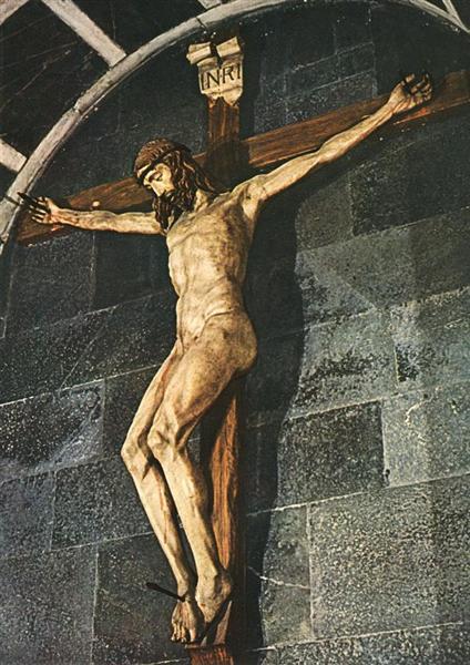 Crucifixion, c.1410 - Filippo Brunelleschi
