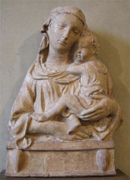 Madonna with Child, c.1402 - Filippo Brunelleschi
