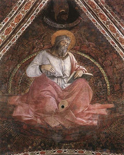St. John the Evangelist, 1454 - Filippo Lippi